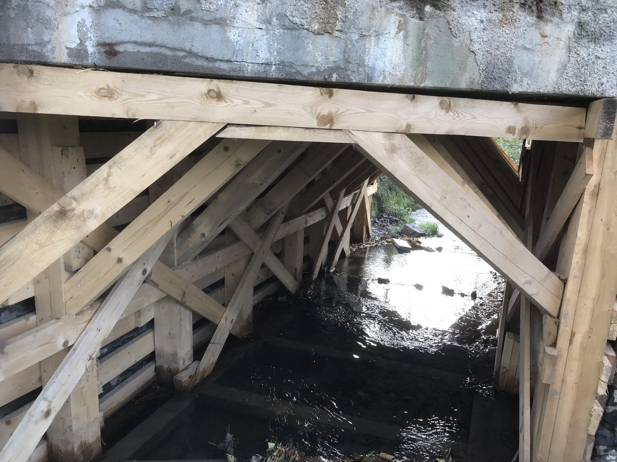 Cakov - zaměření mostu